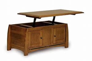 amish boulder creek enclosed lift top coffee table with doors With amish lift top coffee table
