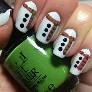 Christmas Winter Nail Art Design