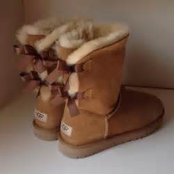 womens ugg boots with bows 39 ugg boots 39 s uggs with bows on back size 8 from 39 s closet on poshmark