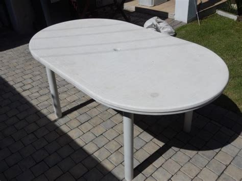 white plastic table and chairs in south africa clasf