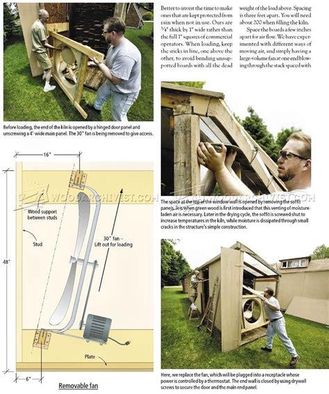 solar kiln plans woodworking techniques solar