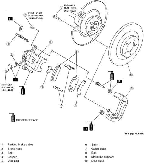repair guides rear disc brakes brake caliper