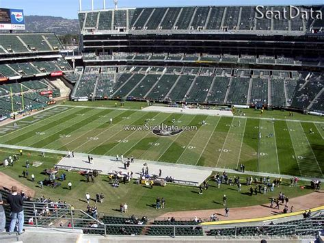 alameda county section 8 sideline oakland coliseum football seating