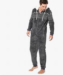 Combinaison Pyjama Homme Polaire : combinaison pyjama g mo ~ Mglfilm.com Idées de Décoration