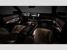 First look inside the new Mercedes SClass Top Gear