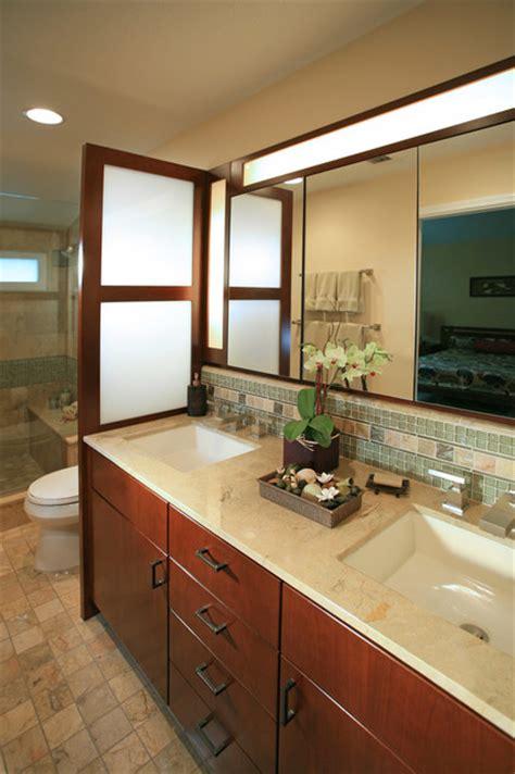 pasadena japanese craftsman craftsman bathroom los