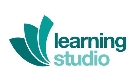 learning studio logo slingshot graphic design web design