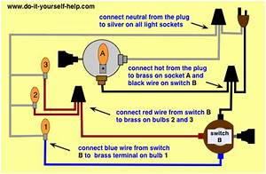 Wiring Diagram Light Switch Old