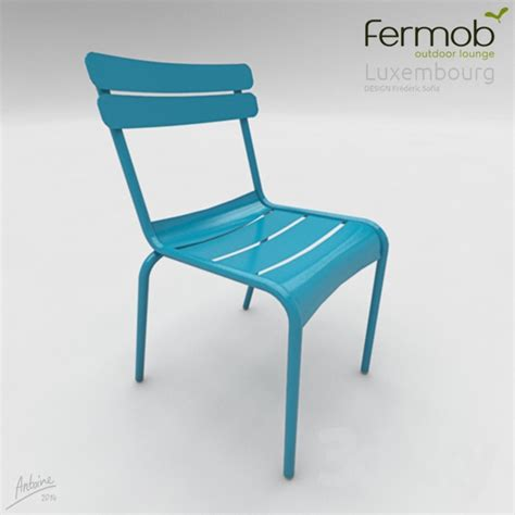 fermob chaise 3d models chair fermob chaise luxembourg