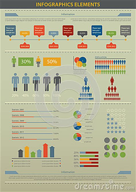 infographic element population royalty  stock image