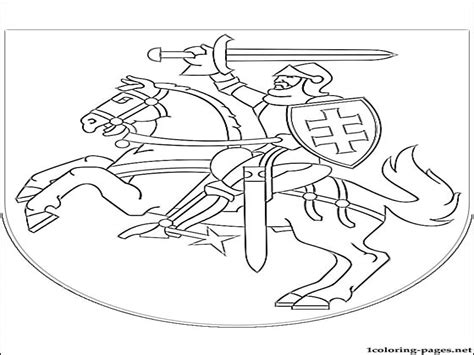 Norway Flag Coloring Page Bltidm