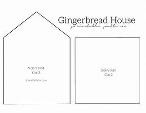 I Knead To Bake  Gingerbread Houses 2014   Free Printable