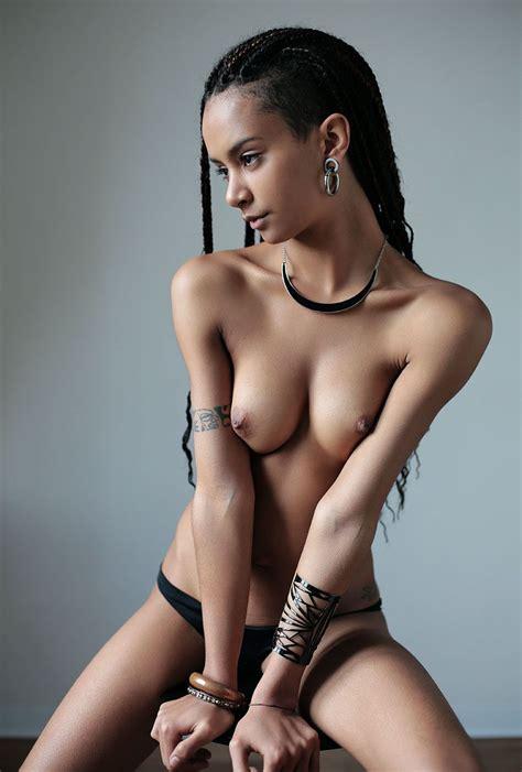 Perfect Tits Ebony Babe