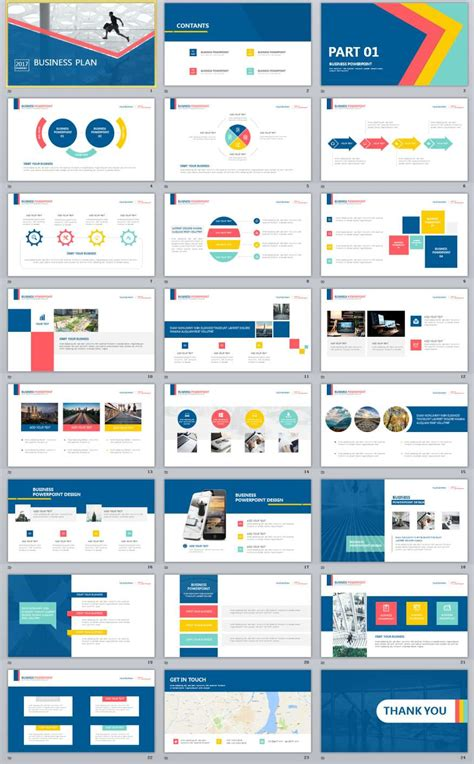 business plan template powerpoint 24 multicolor business plan powerpoint templates the highest quality powerpoint templates and