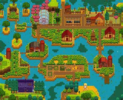 Stardew Valley Farm Layouts Farms Riverlands Layout