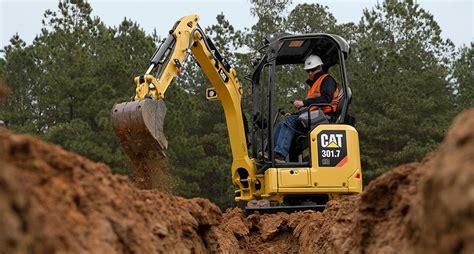 caterpillar rolls   generation mini excavators equipment journal