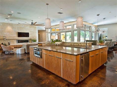 amazing open plan kitchens ideas   home