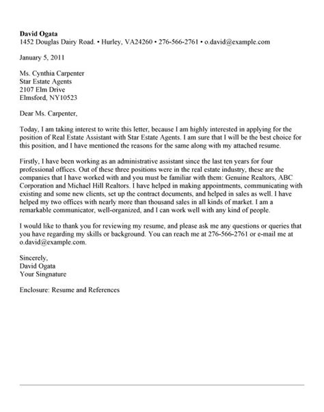 packer cover letter how to write a cover letter real estate how to