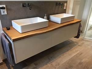 Waschbeckenunterschrank Massiv : waschtischunterschrank mit aufsatzbecken ~ Pilothousefishingboats.com Haus und Dekorationen
