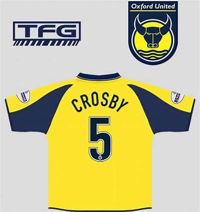 Oxford United 2001 History Kit Shirt