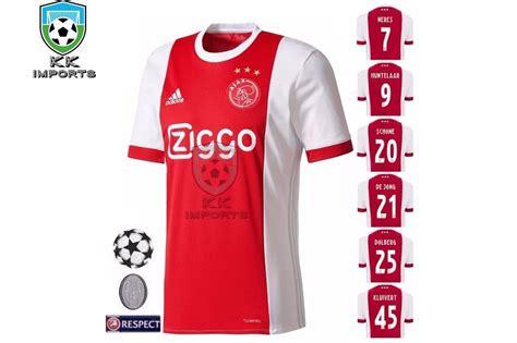 Camisa Ajax 2017/2018 Uniforme 1 Sob Encomenda