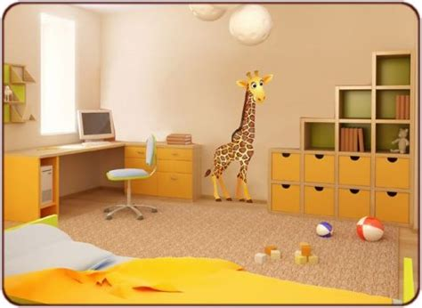 d oration chambres chantier décoration chambre bébé savane