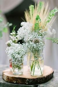 Déco Mariage Champetre : decoration mariage champetre d co de table nature ~ Melissatoandfro.com Idées de Décoration