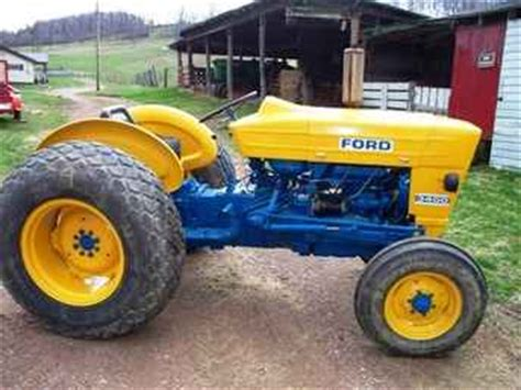 ford  tractor manual