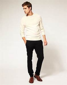 Black pants with Brown Shoes Combination. - Men Fashion Now