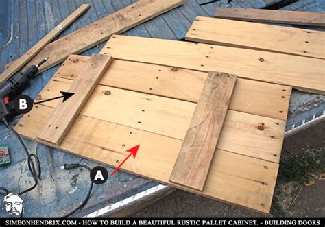 building cabinets out of pallets how to build a beautiful rustic pallet cabinet