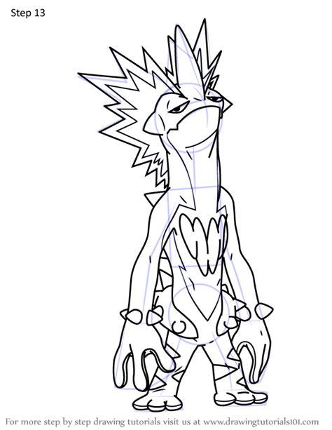 learn   draw toxtricity  key form  pokemon