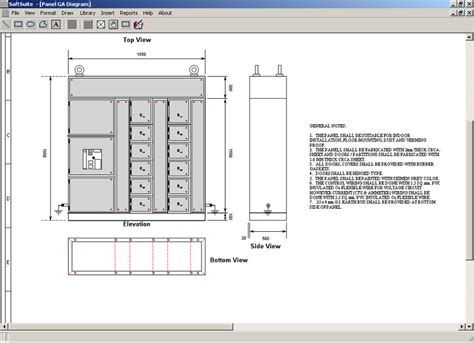 softbitonline electrical panel design software draw electrical power circuits