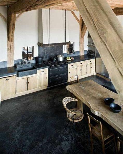 cuisine fille en bois cuisine bois et noir agrandir une cuisine bois et blanc