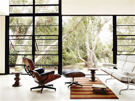 Poltrone Reclinabili Di Design :  The Eames Lounge Chair And Ottoman