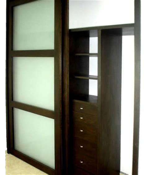 closet puertas corredizas con cristal closet