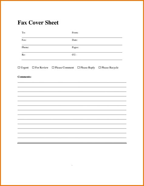 Fax Template Fax Templates For Word Portablegasgrillweber