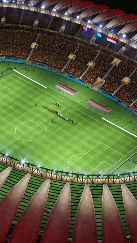 Iphone 6 Soccer Wallpaper 绿茵足球场高清手机壁纸下载 手机壁纸下载 美桌网