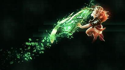 Riven Lol League Legends Wallpapers Backgrounds Aburrido