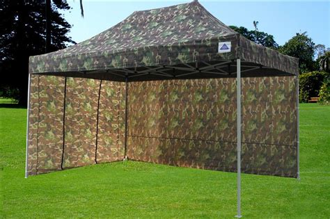 pop canopy party tent ez camouflage model upgraded frame ebay