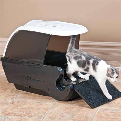 electric cat litter box automated cat litter box cats