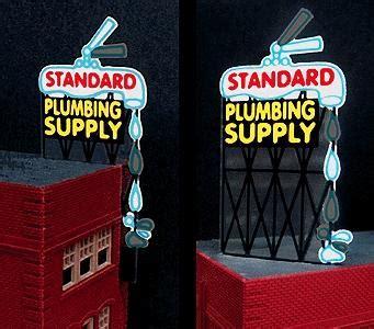 standard plumbing supply standard plumbing supply animated neon billboard kit model