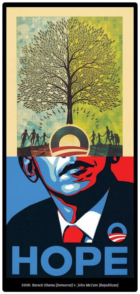 presidential campaign posters  years  election art