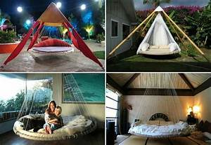 Hanging, Trampoline, Bed, With, Images