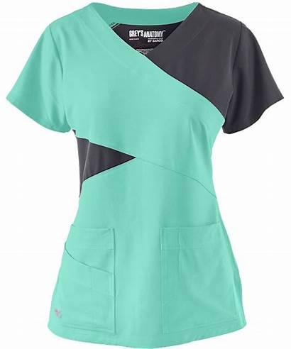 Scrubs Anatomy Grey Block Signature Medical Stretch
