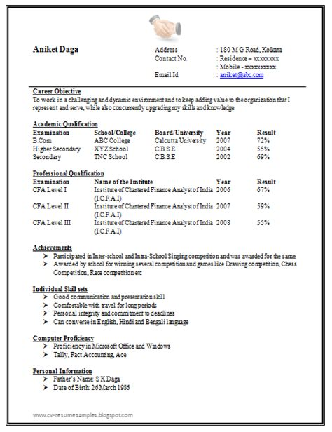 Timesjobs Resume Format by Professional Resume Format For Freshers Schedule Template Free