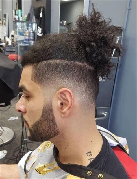 striking medium length hairstyles  men