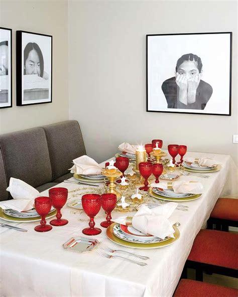 creative inspiring christmas dinner table settings and decoration ideas homesthetics
