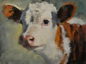 Cow Oil Painting On Canvas
