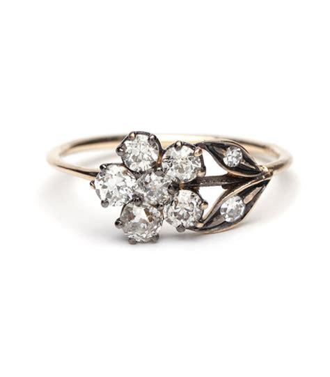 flower wedding rings image wedding ring imagemag co