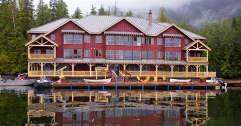 lodge lodges pacific king wilderness columbia british canada